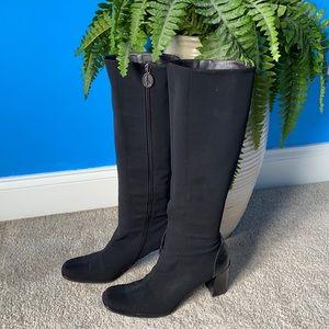 Donald J Pliner stretch boots
